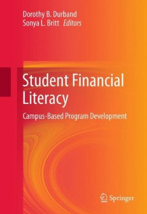 Student Financial Literacy: Campus-Based Program Development free download