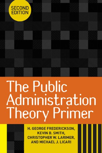 The Public Administration Theory Primer free download