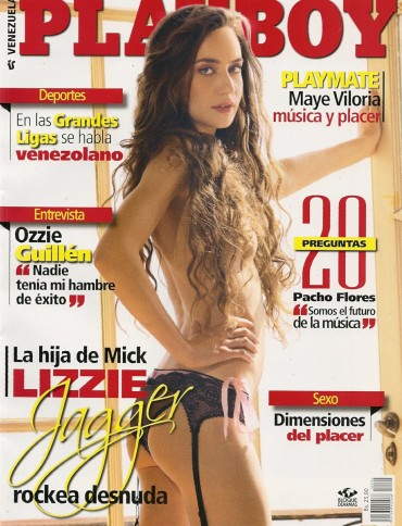 Playboy Venezuela - April 2012 free download