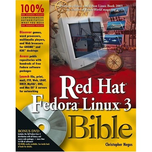 Red Hat Fedora Linux 3 Bible free download