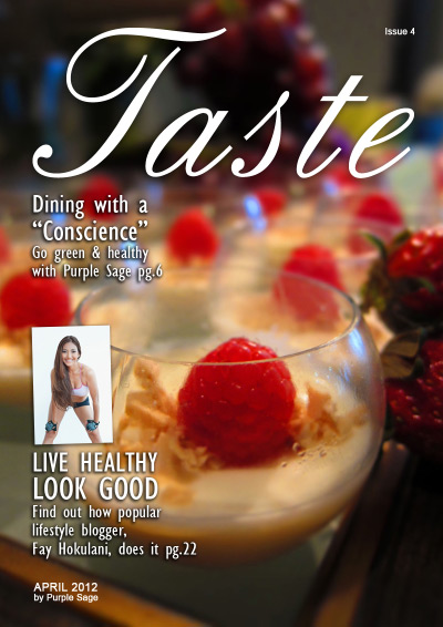 Taste #4 - April 2012 (Green Issue) free download