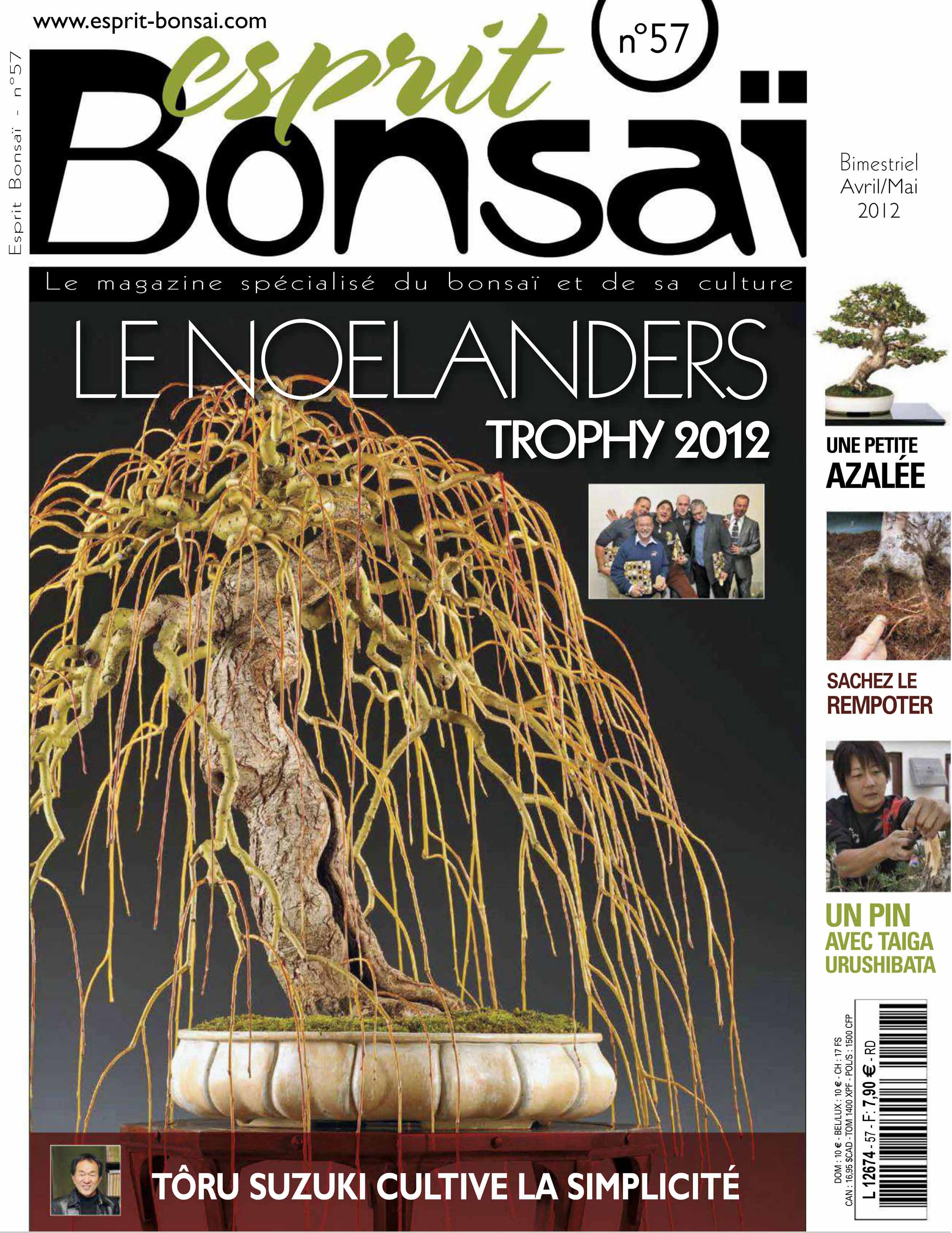 Esprit Bonsai N.57 Avril / Mai 2012 free download