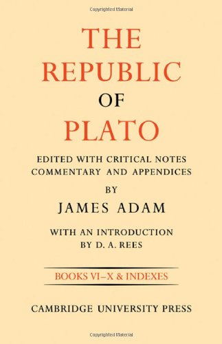 The Republic of Plato, Volume II free download
