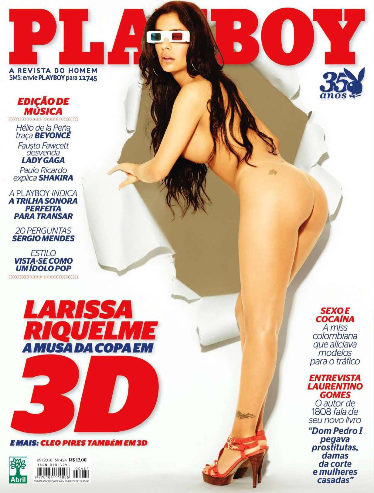 Playboy Brazil - September 2010 free download