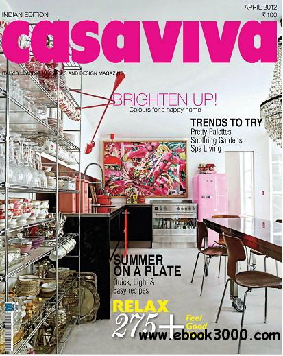 Casaviva India Edition Magazine April 2012 free download
