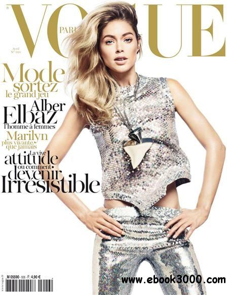 Vogue - Avril 2012 / France free download
