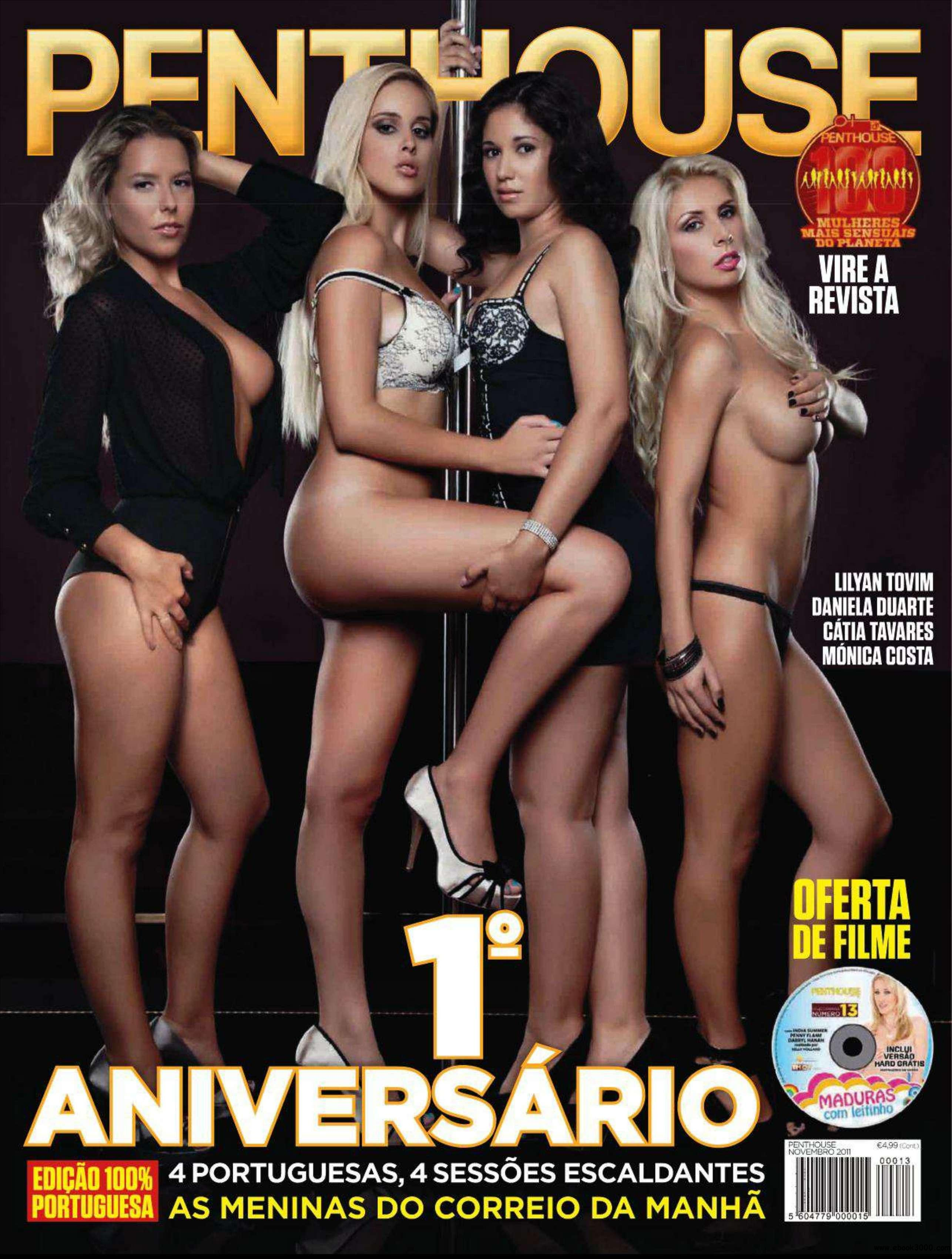 Penthouse Portugal - November 2011 free download