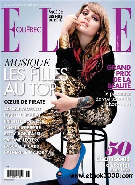 Elle Quebec - January 0001 free download