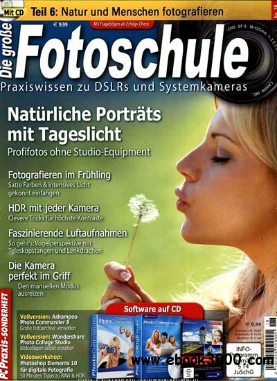 PC Praxis Sonderheft Die Grosse Fotoschule No 18 2012 free download