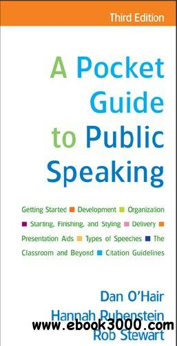 a pocket guide to public speaking The best-selling brief introduction to public speaking, this succinct and  inexpensive guide offers practical coverage of the material typically covered in a  full-sized.