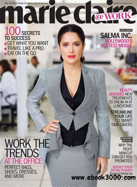 Marie Claire USA - At Work 2012 free download