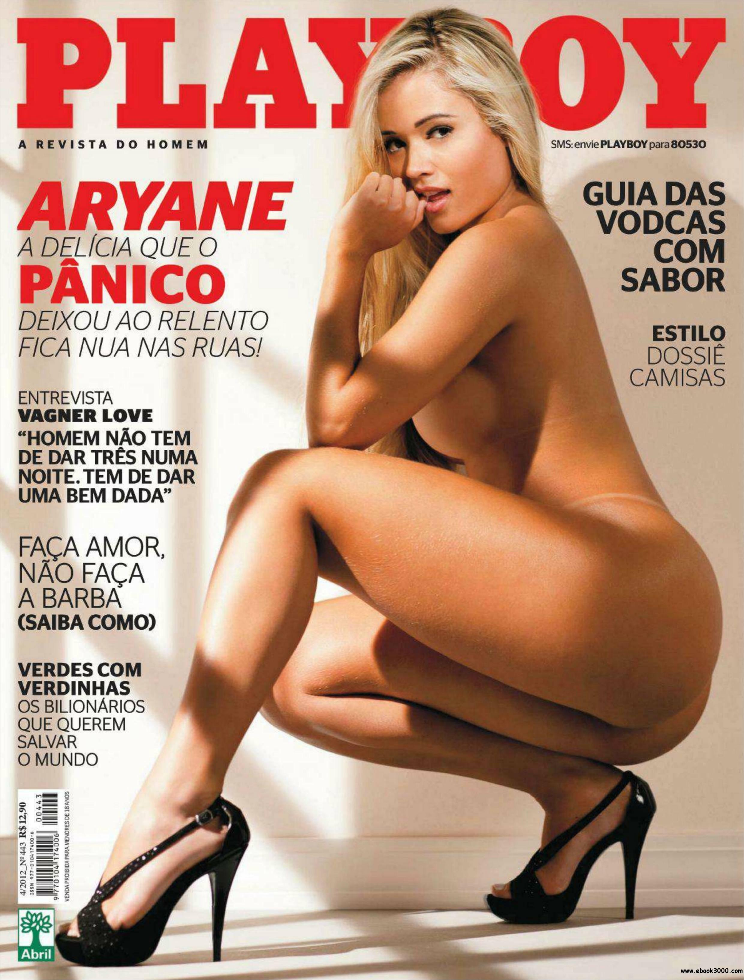 Playboy Brazil - April 2012 free download
