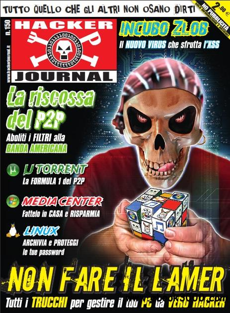 Hacker Journal N 150 - 01 / 14 Maggio 2008 free download