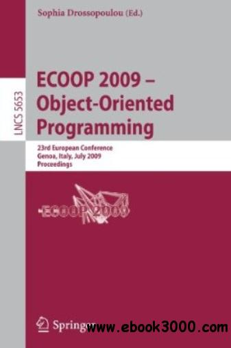 ECOOP 2009 - Object-Oriented Programming free download