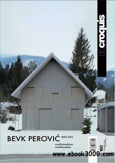 EL Croquis 160 BEVK PEROVIC 2004-2012 free download