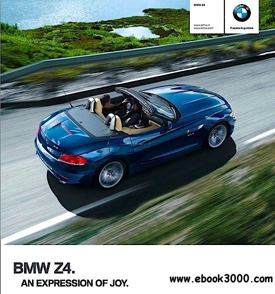 Bmw Z4 Brochure Ufficiale 2012 Free Ebooks Download