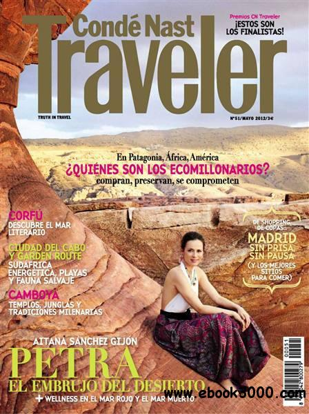 Conde Nast Traveller - Mayo 2012 / Spain free download