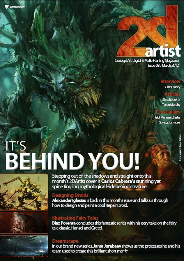 2D Artist issue 75 March 2012 free download