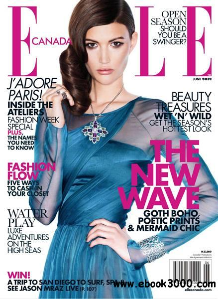 Elle Canada - June 2012 free download