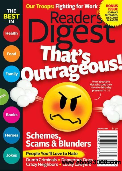 Reader's Digest USA - June 2012 free download