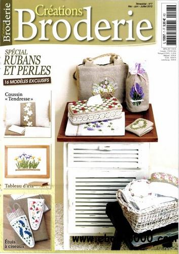 Creations Broderie N 7 - Mai/Juin/Juillet 2012 free download