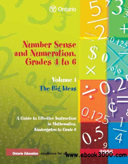 Number Sense and Numeration, Grade 4 to 6 - Vol 1 - 6 free download
