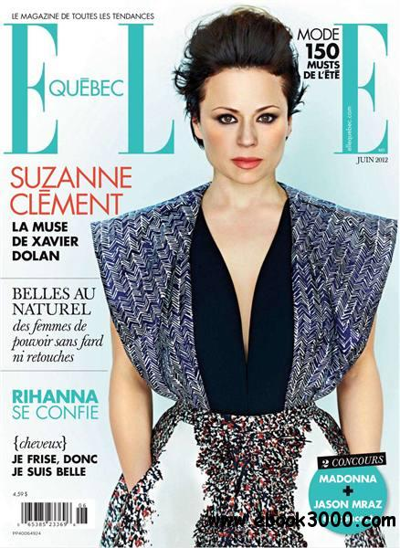 Elle Quebec - juin 2012 free download