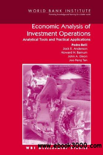 Economic Analysis of Investment Operations: Analytical Tools and Practical Applications free download