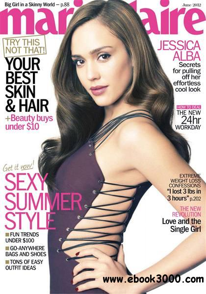 Marie Claire - June 2012 / USA free download