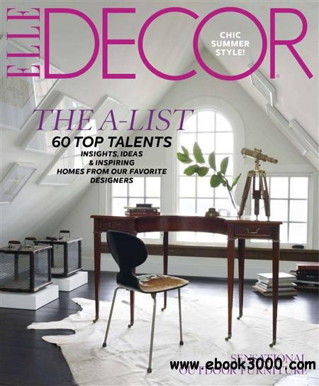 ELLE Decor - June 2012 free download