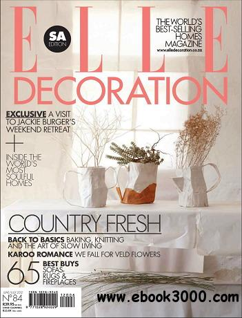 Elle Decoration Magazine (South Africa) June/July 2012 free download
