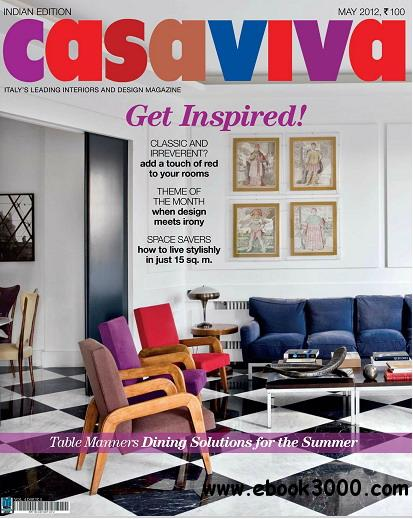 Casaviva India Edition Magazine May 2012 free download