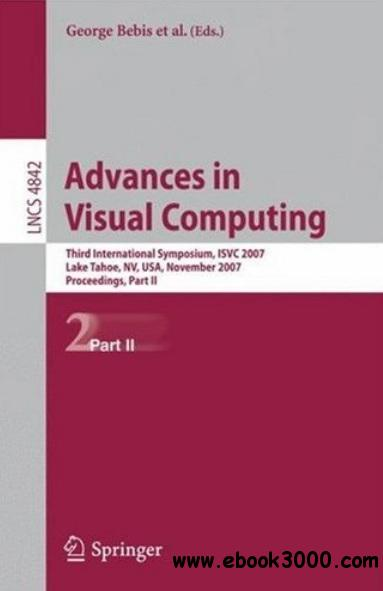 Advances in Visual Computing (part II) free download
