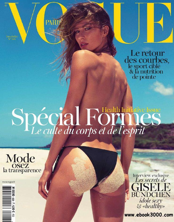Vogue Paris (+ Supplement : Supplement Maillot) 928 - Juin-Juillet 2012 free download