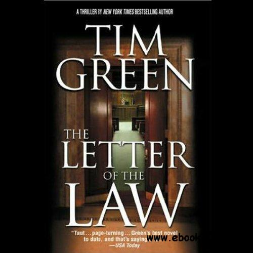 The Letter of the Law by Tim Green, Keith Szarabajka (Narrator) (Audiobook) free download