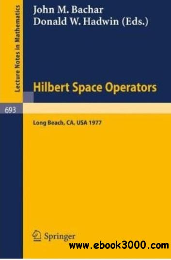 Hilbert Space Operators free download