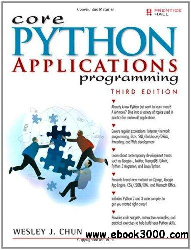 Core Python Applications Programming (3rd Edition) free download