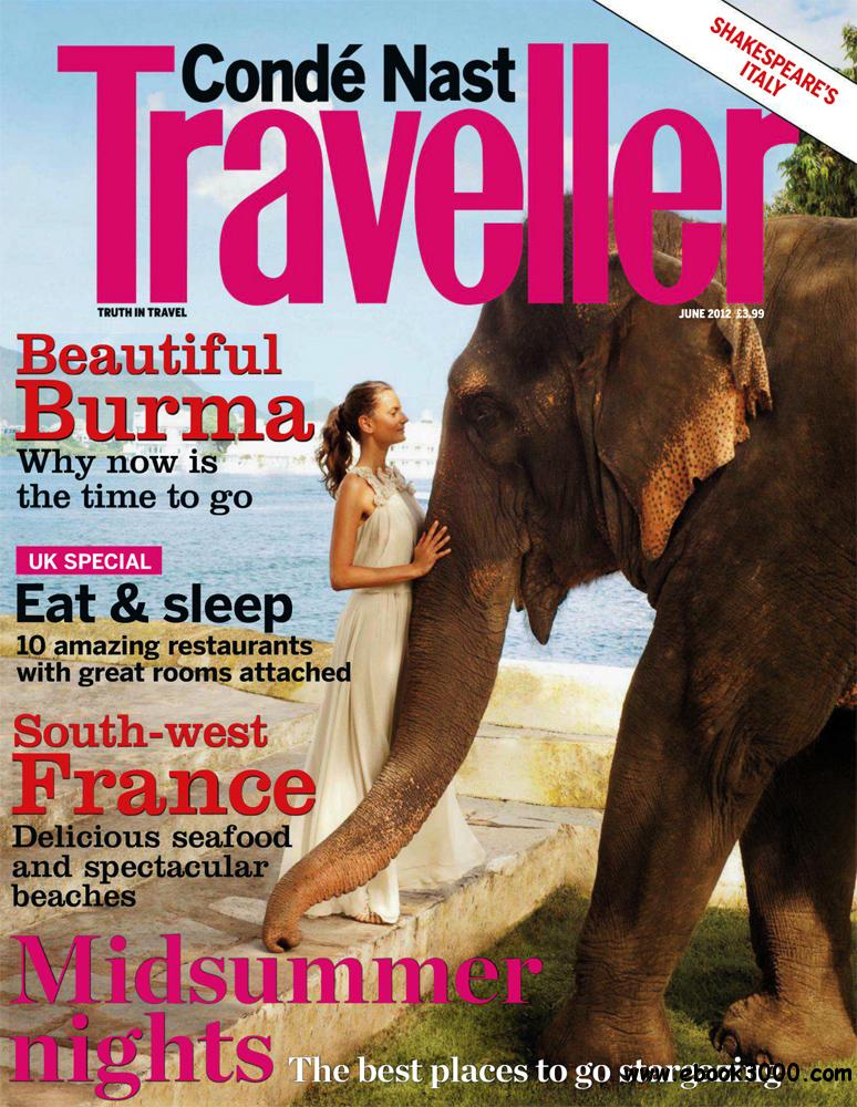 Conde Nast Traveller June 2012 (UK) free download