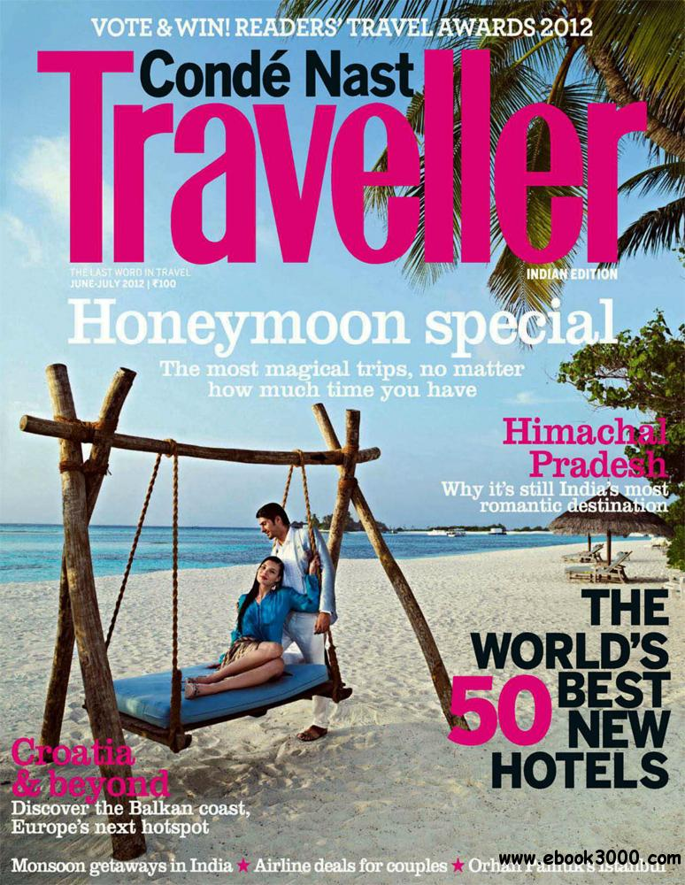 Conde Nast Traveller June-July 2012 (India) free download