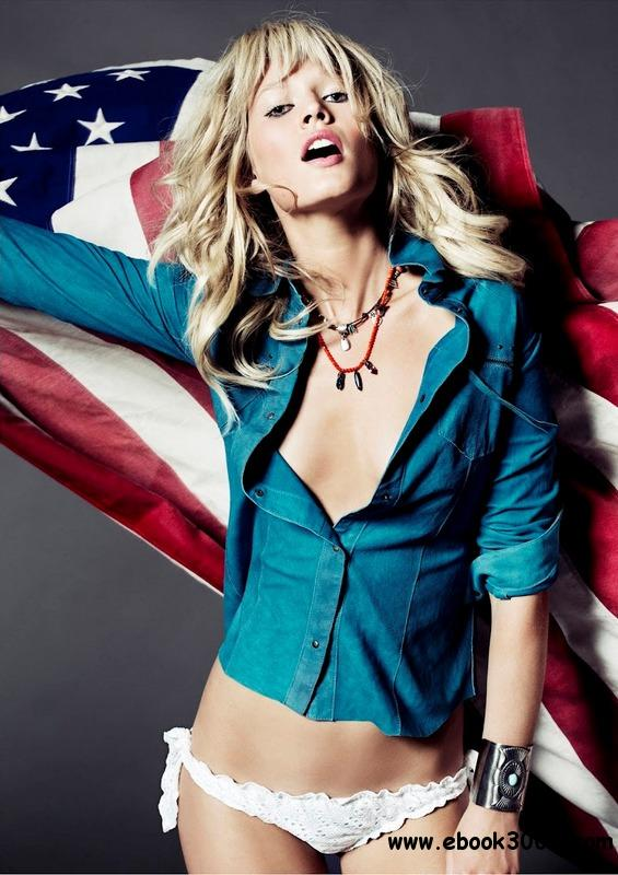 Toni Garrn by Tom Munro for Vogue Spain June 2012 free download