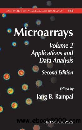 Microarrays, Volume 2: Applications and Data Analysis free download