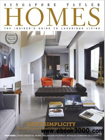 Singapore Tatler Homes Magazine June/July 2012 free download