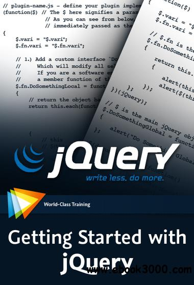 Video2Brain - Getting Started with jQuery free download