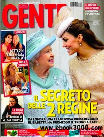 Gente N.25 - 19 Giugno 2012 free download