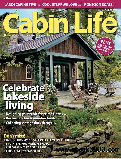 Cabin Life Magzine August 2012 free download