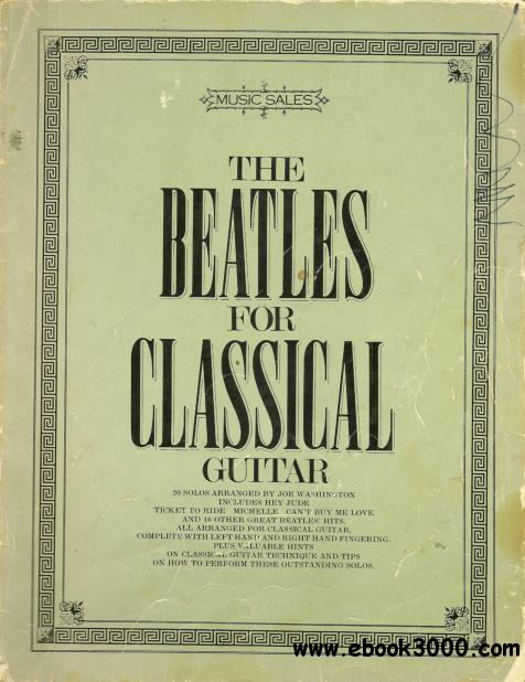 The Beatles For Classical Guitar free download