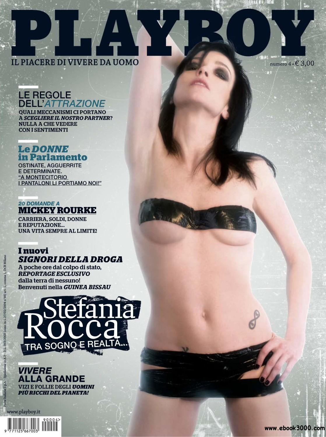 Playboy Italy - April 2009 free download