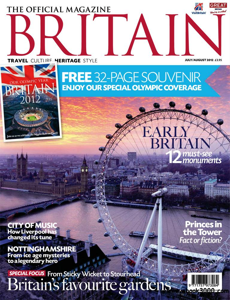 Britain July-August 2012 (UK) free download