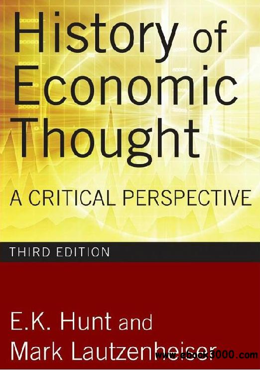 History of Economic Thought: A Critical Perspective free download