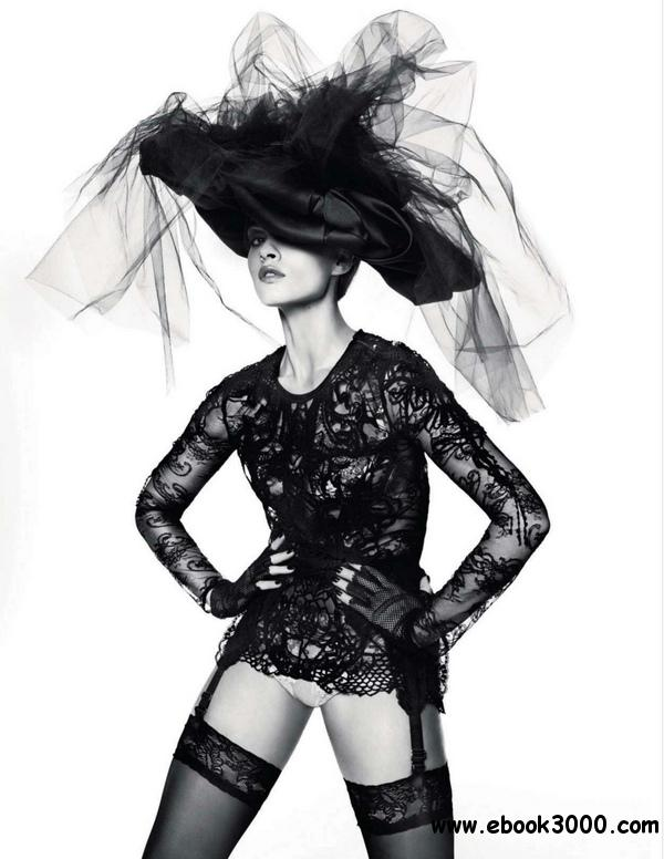 Crystal Renn by Miguel Reveriego for Vogue Russia June 2012 free download